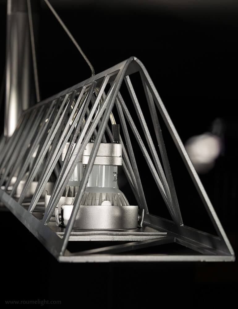 Detailed view of the crane-light by roumelight