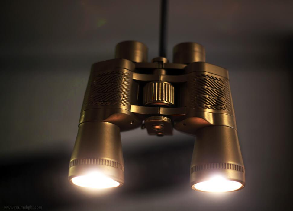 View of the binoculight by roumelight